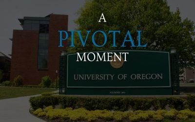 A Pivotal Moment